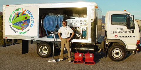 Vortex Carpet Cleaning Truck Picture