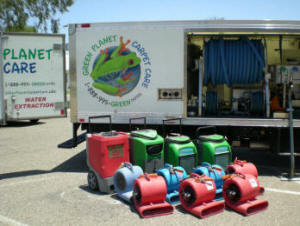 Carpet Cleaning Truck and Equipment that we use in Peoria AZ